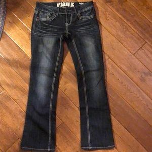 Hydraulic Jean Size 7/8 Short